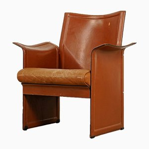 Corium Leather Armchair by Tito Agnoli for Matteo Grassi, 1970s
