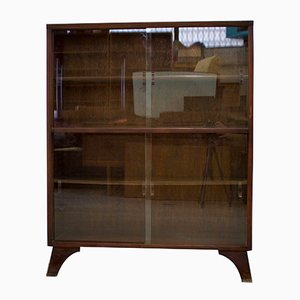 Mid-Century Walnut Bookcase by Herbert Gibbs, 1950s