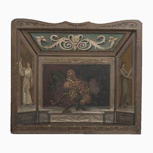 Antiker Kaminschirm