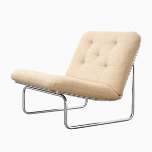Model P656 Wire Lounge Chair by Kho Liang Ie for Artifort, 1960s