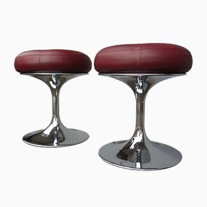 Mid-Century Satellit Stools by Börje Johanson for Johanson Design, Set of 2