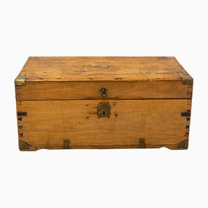 Antique Camphor Wood Chest