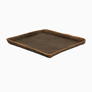 Cast Bronze Hand-Made Trinket Tray from The Design Foundry