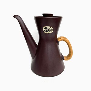 Vintage Terma Coffee Pot by Stig Lindberg for Gustavsberg, 1950s