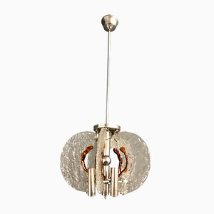 Murano Glass Chandelier by Mazzega, 1970s