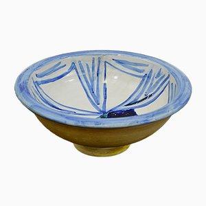 Vintage Italian Ceramic Bowl by Riboni Sandro, 1973