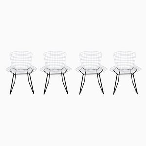 Model 420C Side Chairs by Harry Bertoia for Knoll Inc./Knoll International, 1960s, Set of 4