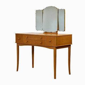 Tocador Mid-Century de madera veteada de Vespa Furniture