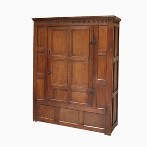 Antique Oak Cupboard