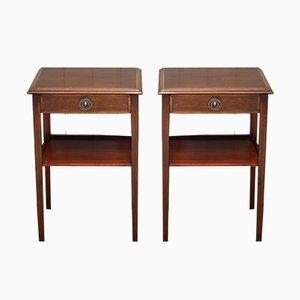 Edwardian Side Tables, 1950s, Set of 2