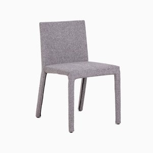 Grey Fabric Dining Chairs by Carlo Colombo for Poliform, 2000s, Set of 8