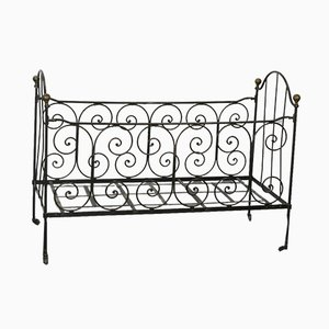 Antique Wrought Iron Sofabed