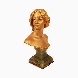 Antike Bronzeskulptur von Felix Charpentier