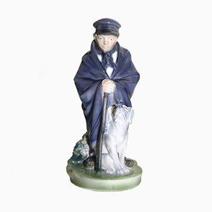 Shepherd Boy Figurine by Christian Thomsen for Royal Copenhagen, 1960s