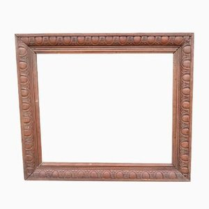Antique Carved Wooden Frame