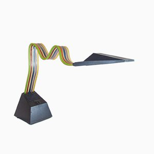 Lampe de Bureau Mid-Century par Alberto Fraser pour Stilnovo, 1980s