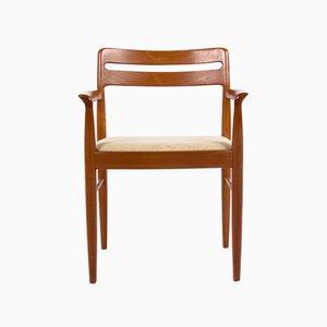Dänischer Mid-Century Armlehnstuhl aus Teak von H.W. Klein für Bramin, 1960er