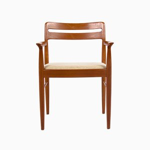 Mid-Century Danish Teak Armchair by H. W. Klein for Bramin, 1960s