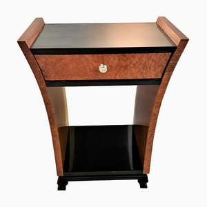 Art Deco Amboina Tulip Console Table, 1930s
