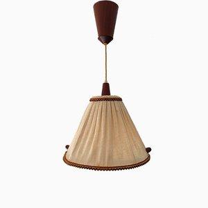 Skandinavische Vintage Deckenlampe, 1960er