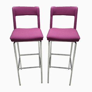Jackie Bar Stools by Mattias Ljunggren for Johanson Design, 1990s, Set of 2