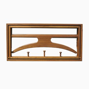 Teak Coat Rack by Adam Hoff & Poul Ostergaard for Virum, 1950s