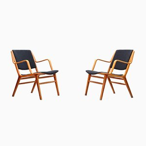 Mid-Century Lounge Chairs by Peter Hvidt & Orla Mølgaard for Fritz Hansen, 1960s, Set of 2