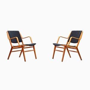 Mid-Century Sessel von Peter Hvidt & Orla Mølgaard für Fritz Hansen, 1960er, 2er Set