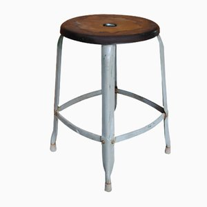 Industrial Stool from Nicolle, 1950s