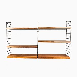 Rosewood Shelf by Strinning, Kajsa & Nils ''Nisse'' for String, 1960s