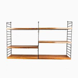 Rosewood Shelf by Strinning, Kajsa & Nils ''Nisse'' for String, 1960s