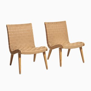 Early 654 Chairs by Jens Risom for Knoll Inc. / Knoll International, Set of 2