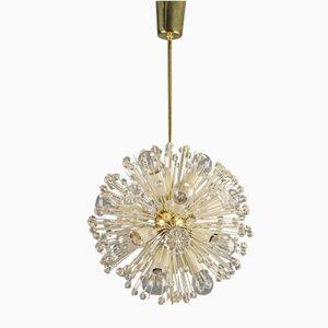 Lámpara de araña Dandelion de Emil Stejnar para Rupert Nikoll, años 50