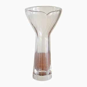 Finnish Glass Vase by Tapio Wirkkala for Littala, 1957