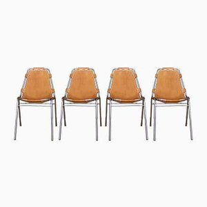 Mid-Century Dining Chairs by Charlotte Perriand for Cassina, Set of 4