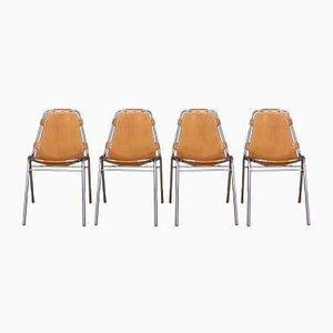 Mid-Century Esszimmerstühle von Charlotte Perriand für Cassina, 4er Set