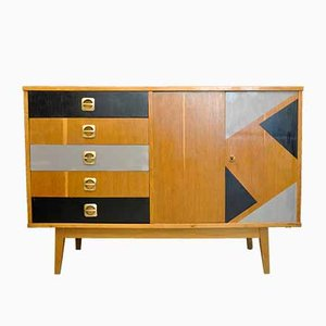 Vintage Wooden Sideboard, 1960s