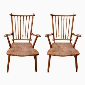 Chaises d'Appoint Mid-Century, 1970s, Set de 2