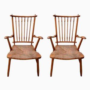Mid-Century Side Chairs, 1970s, Set of 2