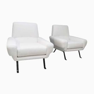 Vintage Lounge Chairs, 1980s, Set of 2