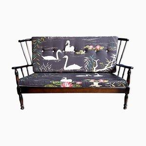 Vintage Sofa mit Bezug von Nina Campbell