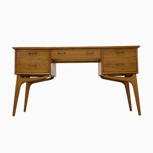 Walnut Veneer Dressing Table by Alfred Cox for Heal's, 1950s