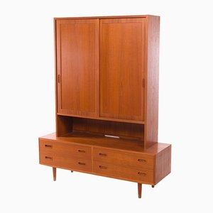 Mueble alacena de Poul Hundevad para Hundevad & Co., años 60