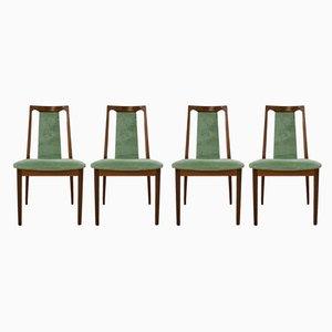 Mid-Century Esszimmerstühle aus Teak von G Plan, 4er Set