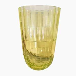 Art Deco Uranium Glass Vase