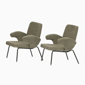 Armchairs by Alan Fuchs, 1950s, Set of 2