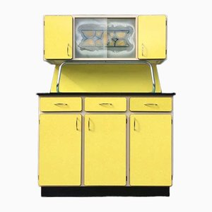 Yellow Formica Buffet from Molager, 1950s