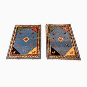 Handgefertigte türkische Teppiche, 1950er, 2er Set