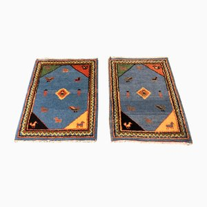 Turkish Handmade Carpets, 1950s, Set of 2