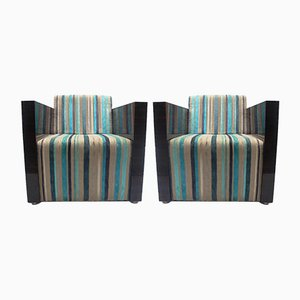Art Deco Style Lounge Chairs by Fermin Verdeguer for DARC, 2002, Set of 2